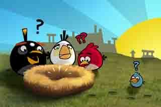 Angry Bird là tựa game đình đám trong những năm trở lại đây của hãng Rovio và theo thống kê thì tựa game này đã thu hút được hàng chục triệu lượt tải trong năm trên Youtube. Đây được coi là tựa game đầu tiên được đưa ra đời thực trên màn hình smart phone.