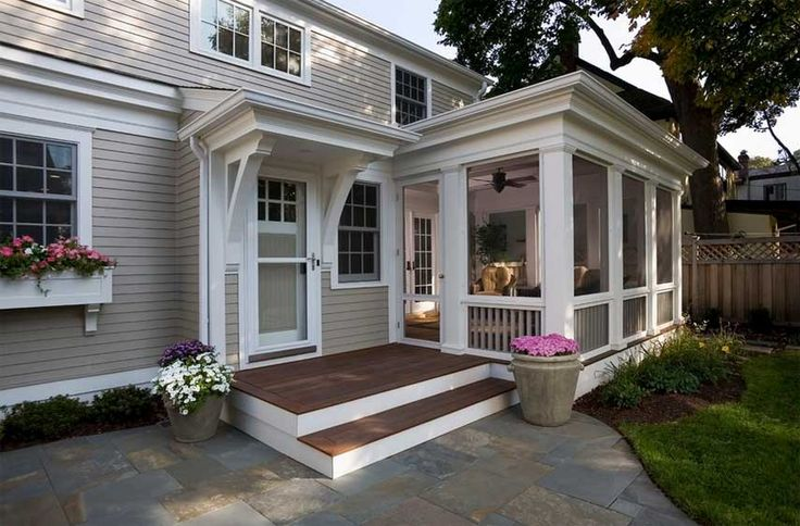 front porch ideas brick ranch