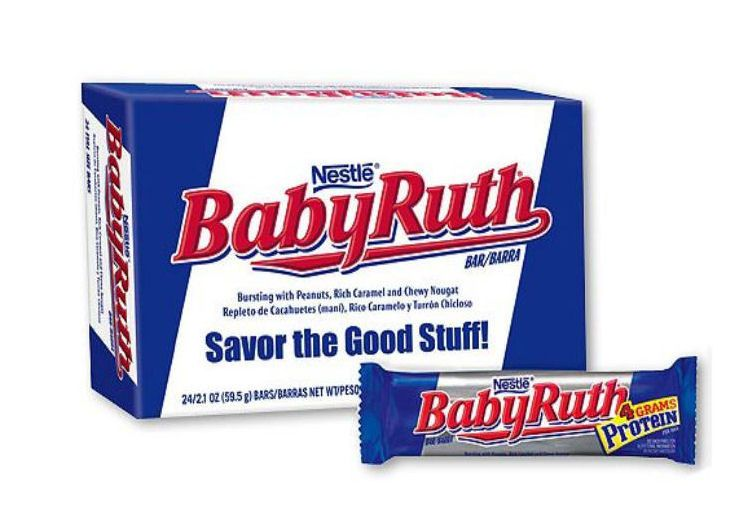 Nestle Baby Ruth 24ct Box | Your Candy Shop Cheap Candy in Bulk