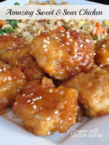 Amazing Sweet and Sour Chicken on MyRecipeMagic.com
