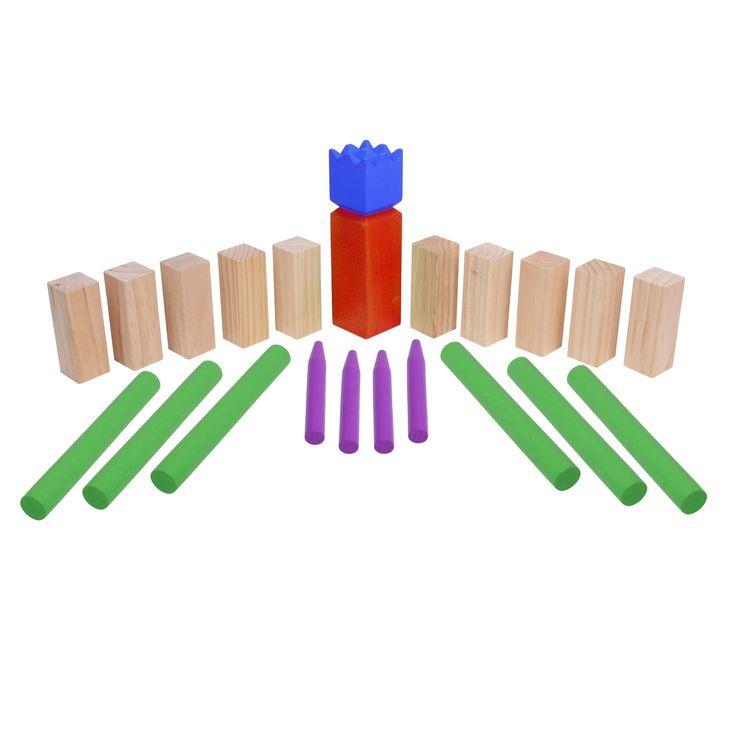 Kennt ihr Kubb, das Wikingerspiel? Bei uns gleich in mehreren Varianten erhältlich :)