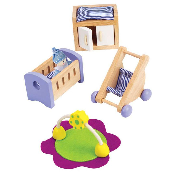 Baby's Room Dollhouse Furniture