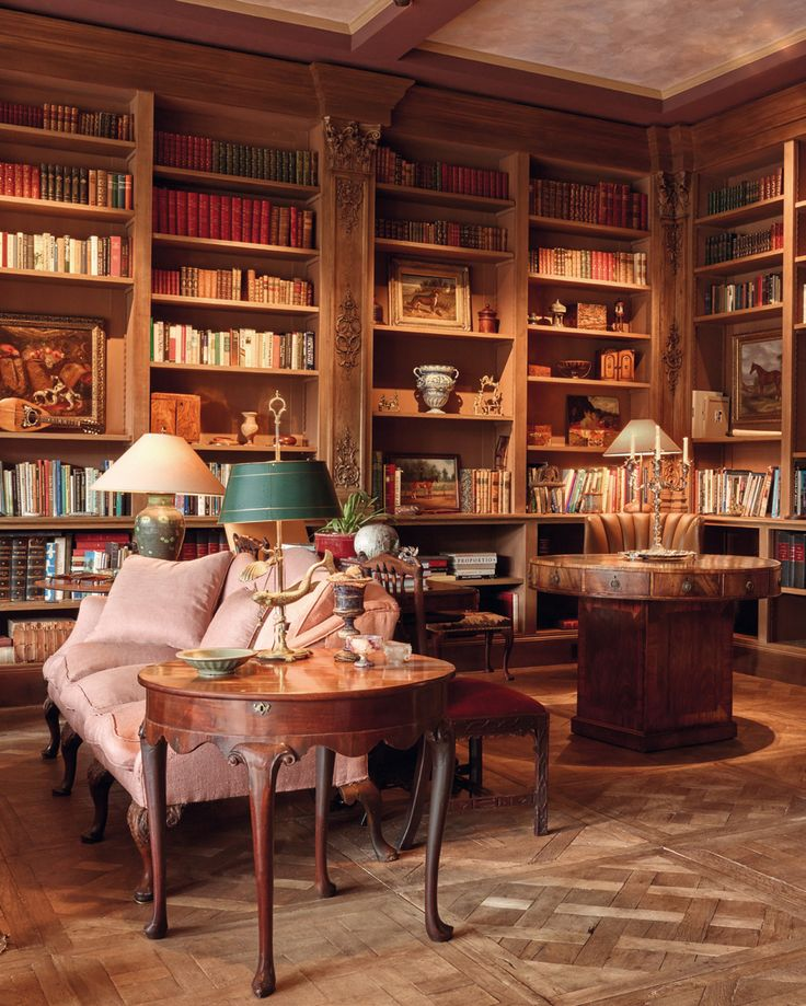 Betty Gertz Dallas Home Library Designed By Axel Vervoordt.