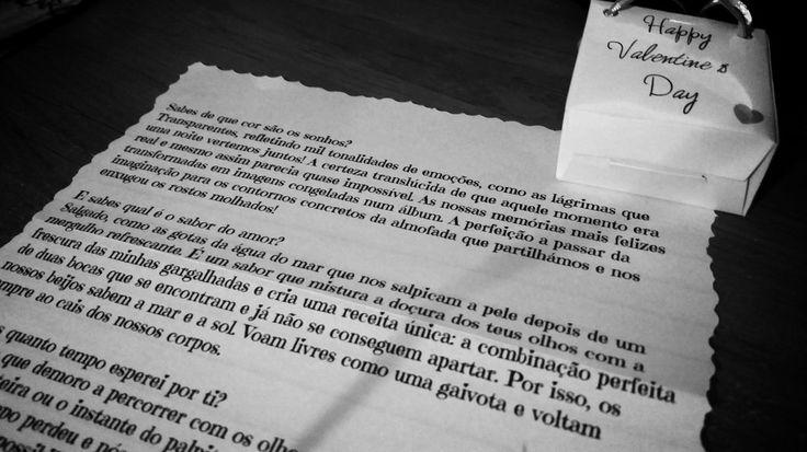 Valentine's day! Carta de Amor