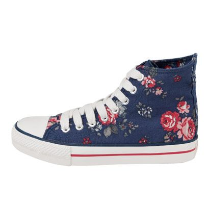 £28.00 Field Rose Hightops from Cathkidston