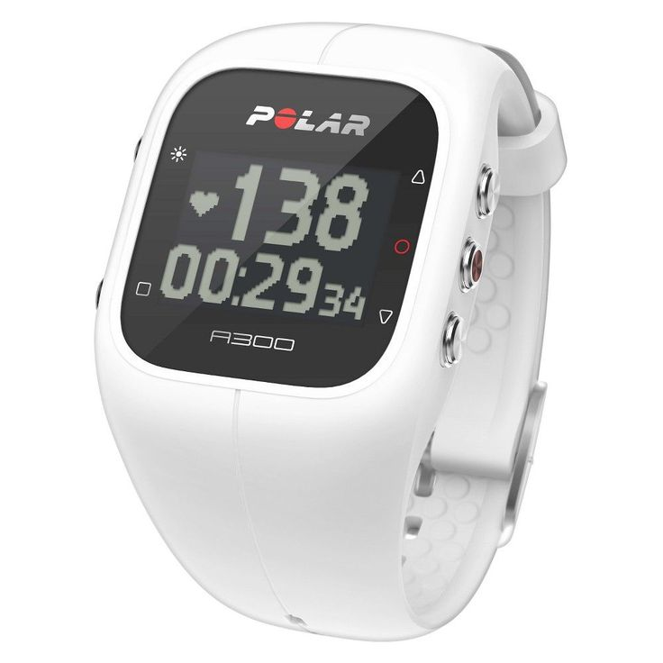 Polar Fitness and Activity Monitor with Heart Rate - White (Polar A300 )