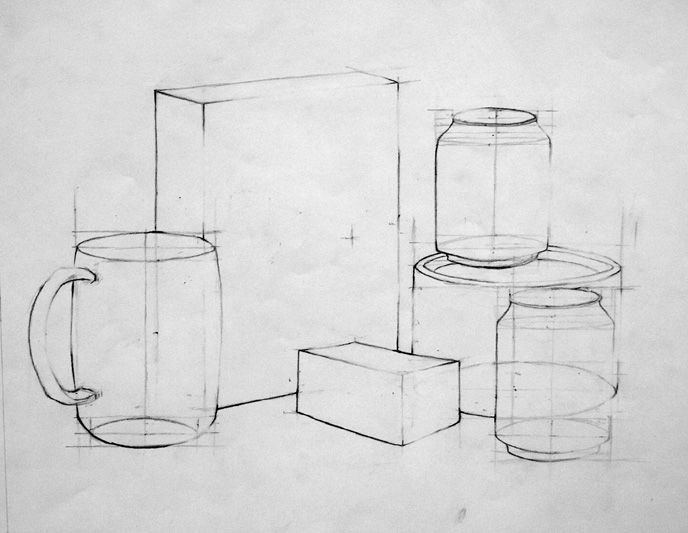 Line And Form In Art : Best images about drawing assignments on pinterest