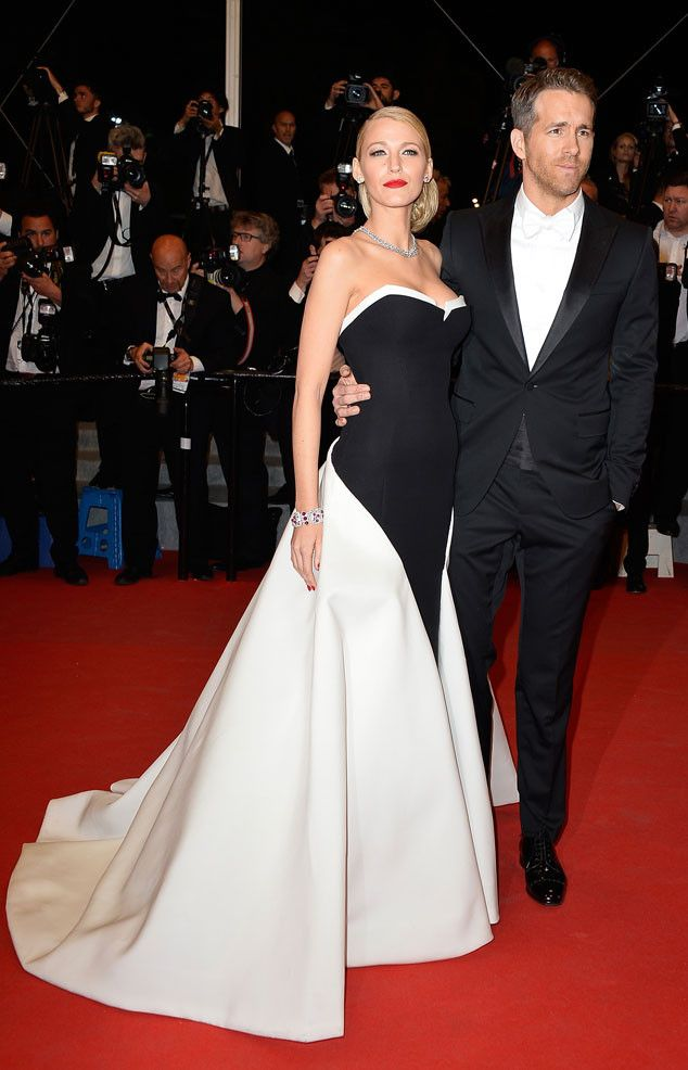 Blake Lively and Ryan Reynolds win for hottest red carpet couple ever at Cannes. WOW!