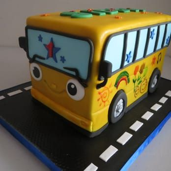 Wheels On The Bus..... Cake - Yelp