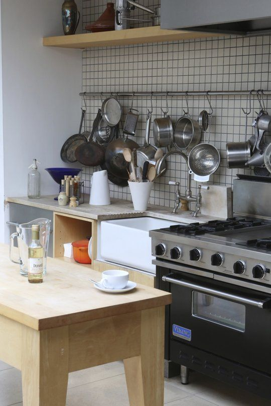 A Visit To Terence Conran's Old Apartment — House Call.  Have to figure out how to get my pots and pans out of cabinets.  It is so difficult to get them in and out of the cabinets that sometimes I simply choose not to and order in.  Would love to have no excuses.