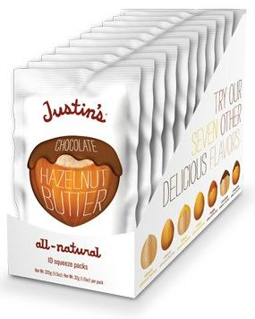 Justin's: The Nuttiest of Them All    Favorite candy bar ever! Imagine a much healthier tastier snickers bar!