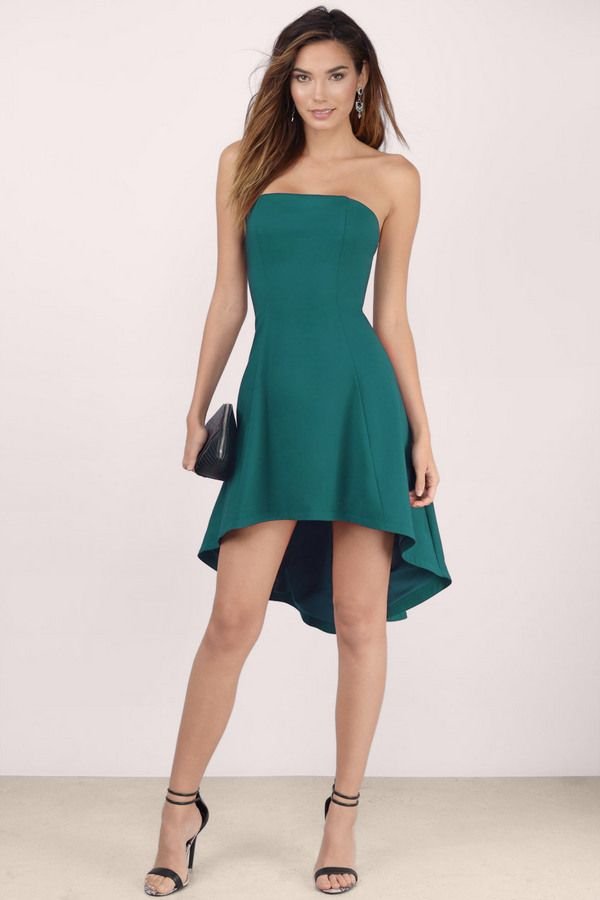 Neverland Strapless Skater Dress at Tobi.com | #SHOPTobi | #L8rSk8r