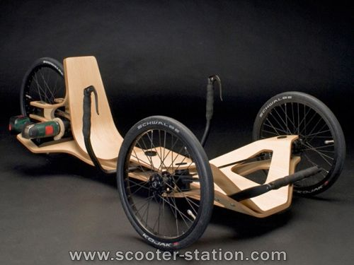 3 roues lectrique rennholz original halo concept. Black Bedroom Furniture Sets. Home Design Ideas