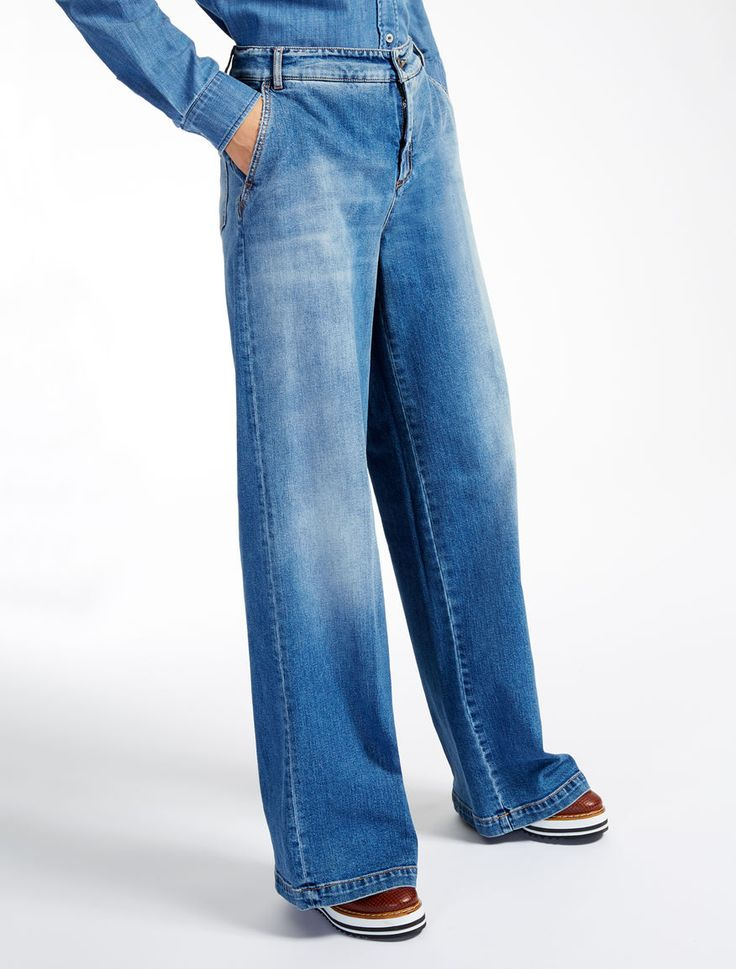 Weekend Max Mara MAYACA blu marino: Jeans in denim stretch SPEDIZIONE GRATUITA