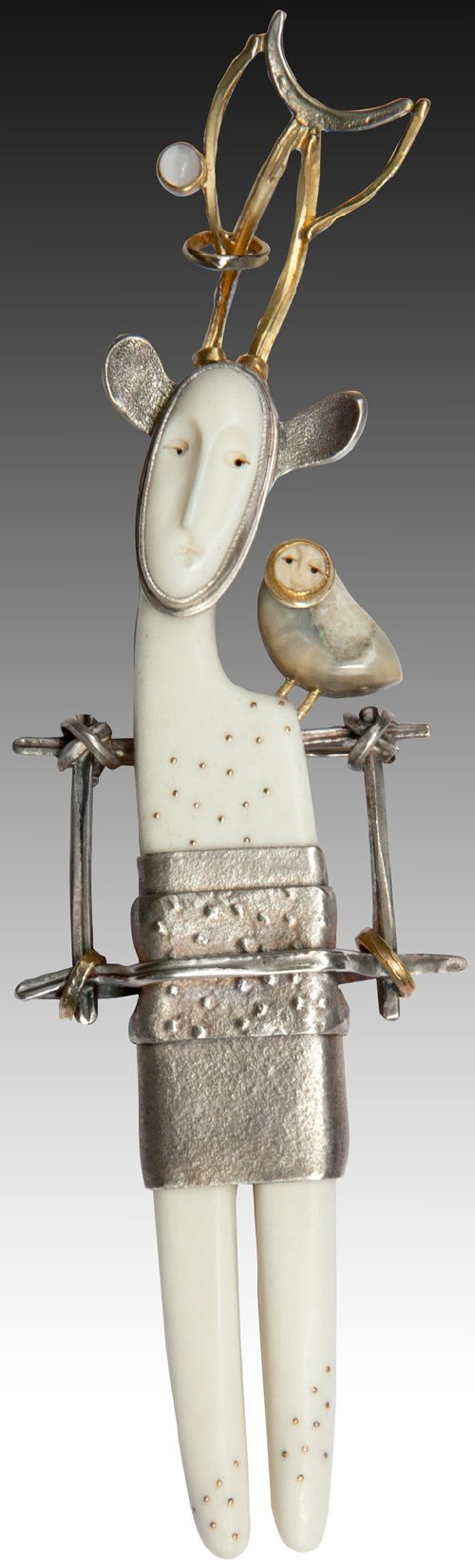 Carolyn Morris Bach jewelry art