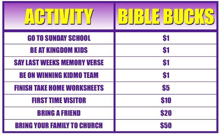 bible bucks store - Google Search