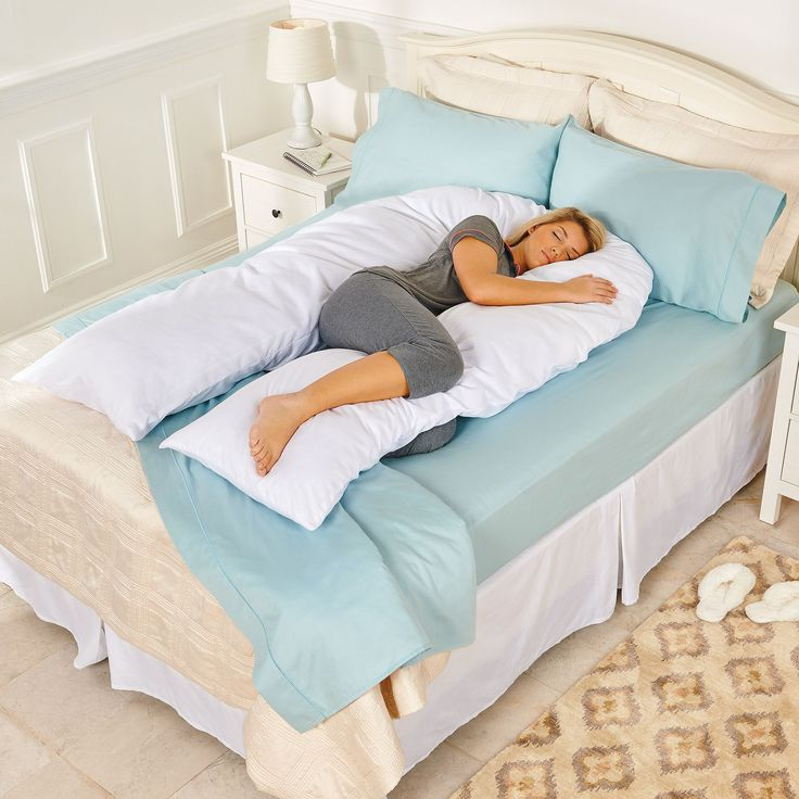 the total body support pillow is the answer to a good nightu0027s sleep give