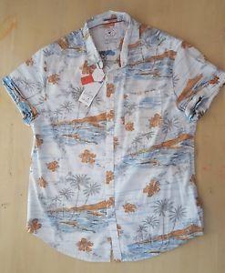 Cactus Man Ricky Singh Slim Fit Shirt Hawaiian Tropical Reverse