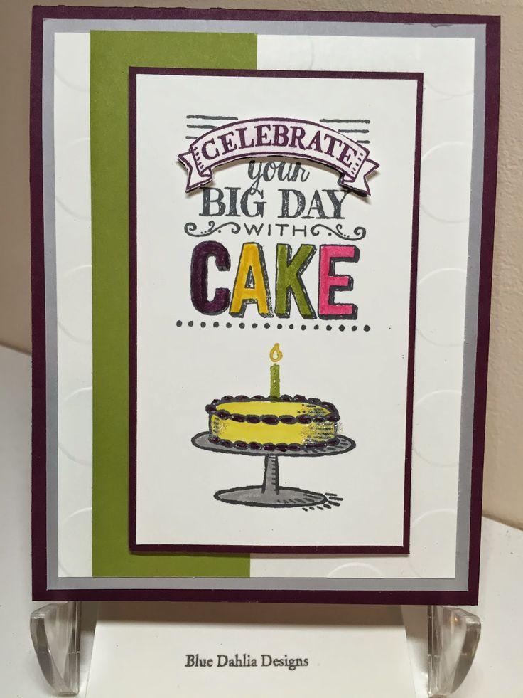 34 best Big Day Stamp set ideas images on Pinterest Birthdays Big