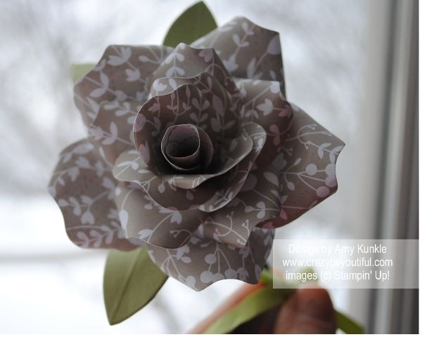 32 best stampin up bouquet bigz images on pinterest paper flowers february 2015 crazybeyoutiful stampin up bouquet bigz l die paper rose something borrowed designer series paper mightylinksfo Choice Image