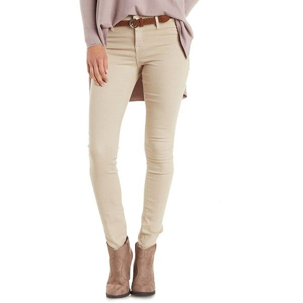 25  best ideas about Tan Skinny Jeans on Pinterest | Autumn skinny ...