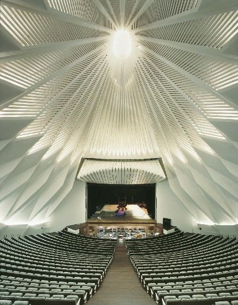 Tenerife Concert Hall - Architecture Linked - Architect & Architectural Social Network