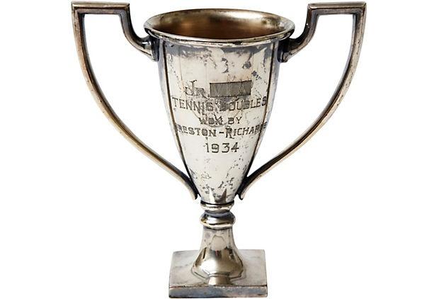 1934 Silverplate Tennis Trophy  $149.00