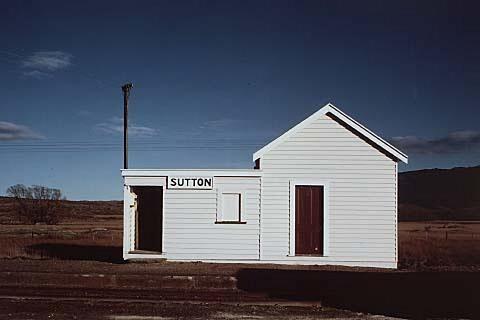 white, white, white. | Robin Morrison Sutton Station, Central Otago