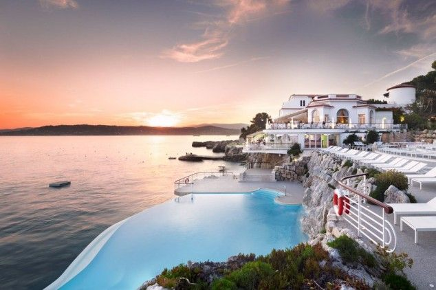 Beautiful Hotel Pools - Hotel Du-Cap Eden-Roc, Cap D'Antibes, France   www,facebook.cpm/loveswish