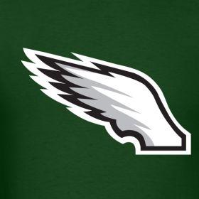 diy philadelphia eagle wings | Eagles Wing Shirt | PhittedTees