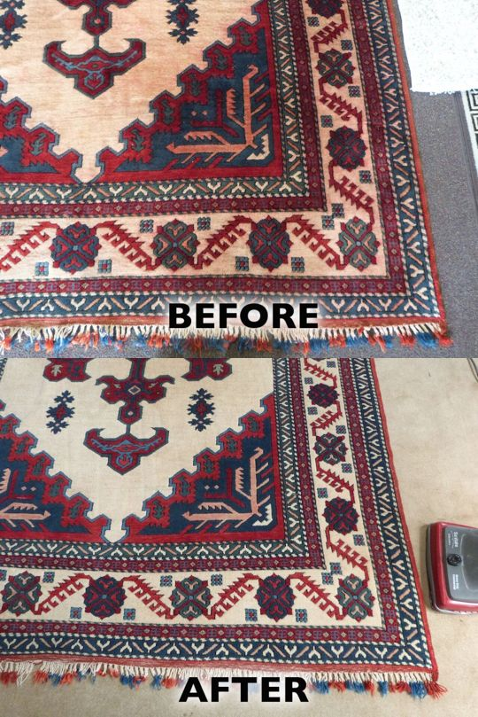 Many Times Water Damaged Rugs With Dye Bleeding Can Be Red To Its Previous Condition But Rug Cleaningoriental
