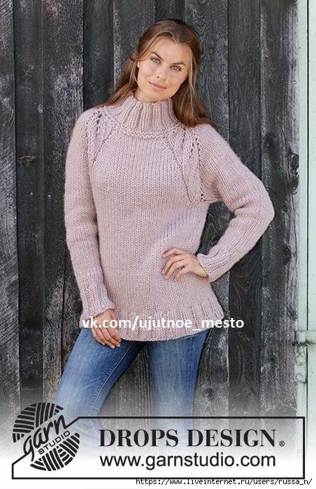 уютное место вязание разные модели спицами свитер вязание