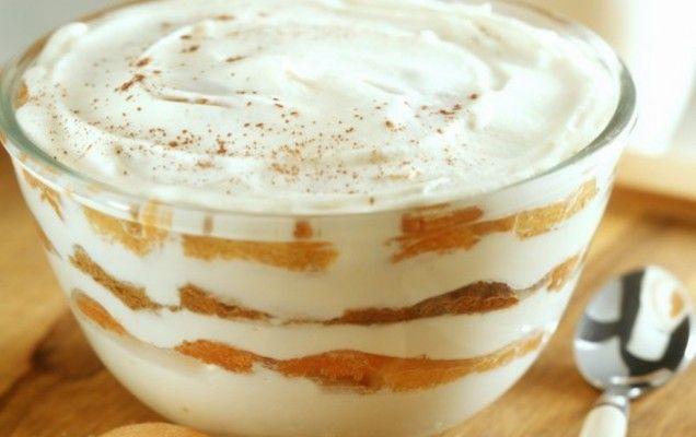 Γλύκισμα με ροδάκινα, μπισκότα και τυρί κρέμα - iCookGreek