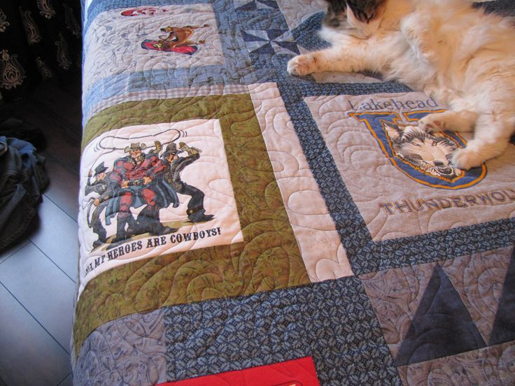 Cat approved quilting.