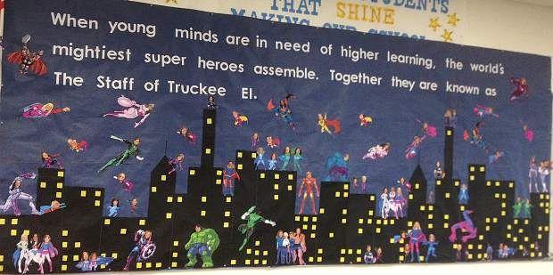 17 Best images about Teacher Appreciation Super Hero Theme ...