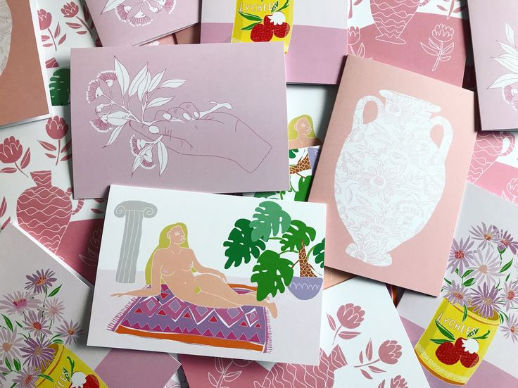 Greeting cards by Hey, Daisy Design www.heydaisydesign.com