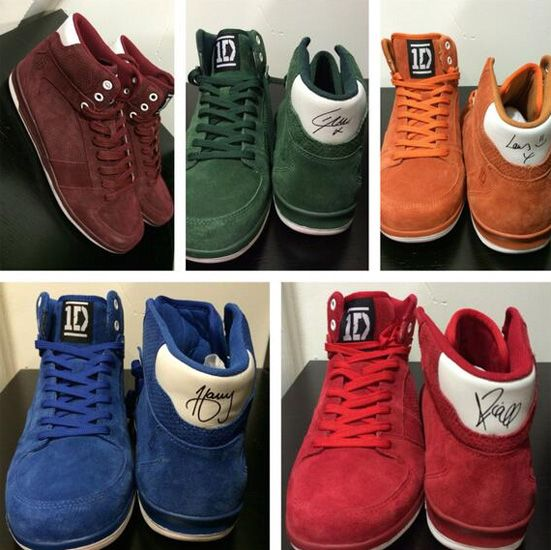 There Are One Direction Shoes Now