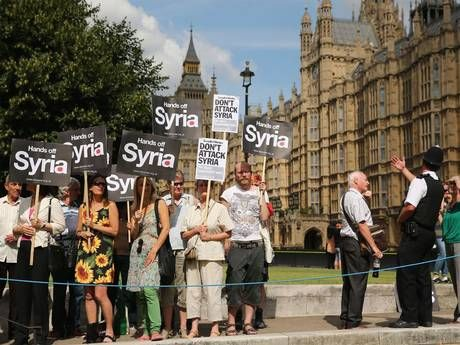 Britain votes against Syria action ---- White House says Obama's decision to press on or abandon military intervention will be guided by national interests ----  http://america.aljazeera.com/articles/2013/8/29/u-s-push-to-strikeslowsastensionsoversyriarise.html -- Even Right-Winger Cameron agreed not to override the wishes of the British Parliament & BRITISH PEOPLE not to invade Syria. --  PRESIDENT OBAMA, STOP ACTING LIKE A RIGHT-WINGER ON MILITARY & SURVEILLANCE ISSUES!  -- NO WAR WITH…
