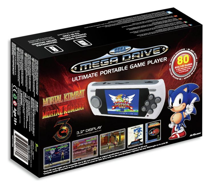 Buy Sega Portable Console with 80 Built-In Games at Argos.co.uk, visit Argos.co.uk to shop online for Other consoles and games, Video games and consoles, Technology