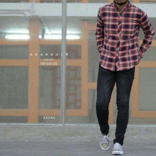Mulai langkahkan kakimu dengan segenap keyakinanmu Bukan 1/2 atau 1 melaikan semua.  Selamat Pagi INDONESIA  Arrival shirt name articel : • ABUNG •  available size S,M,L,XL . . #ararkulaclothes #arklforlife #arklman #arklfemale #style #new #collection #shirt #wear #casual #photooftheday #vsco #vscocam #vscogood #vscogoodshot #ootd #lookbook #instapict #lookbook #arrival #indonesia #localbrand #available #casual #premium #exclusive #lookbook #instagood