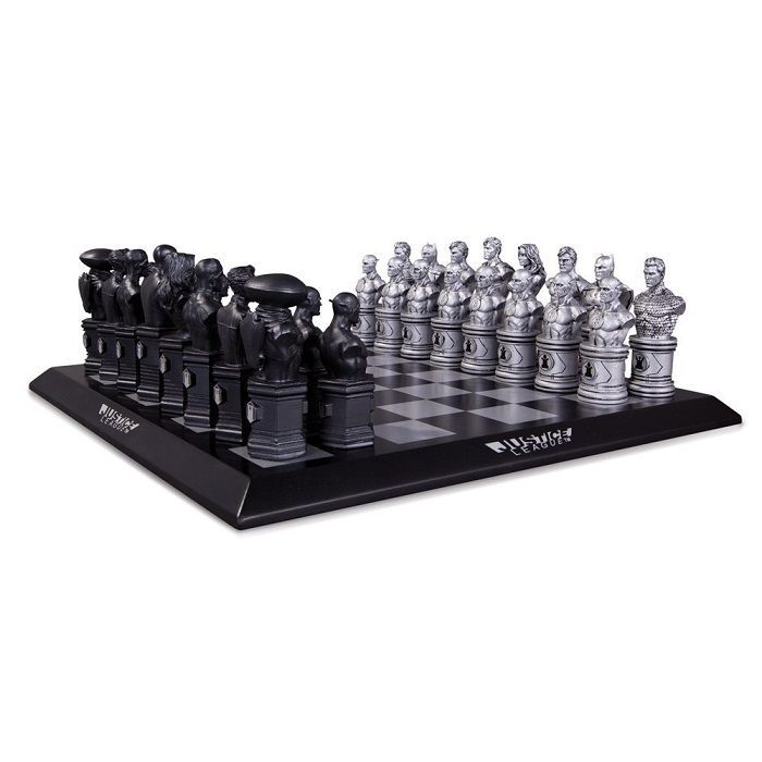 Justice League Chess game