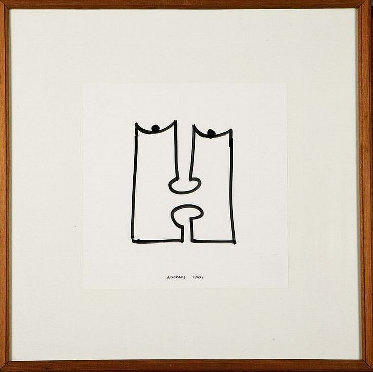 Bruno Munari, Faces, 1994-66
