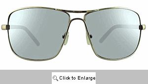 Rookie Large Aviator Sunglasses - 271 Silver