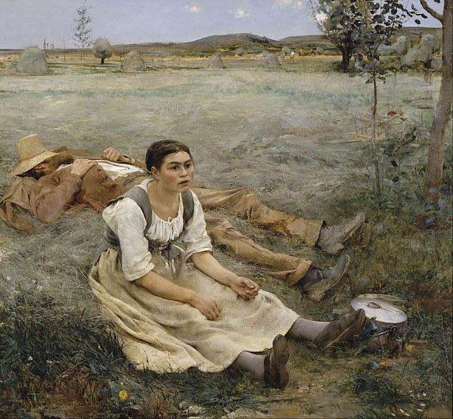 """""""Les Foins"""" - Jules Bastien-Lepage (1877)"""
