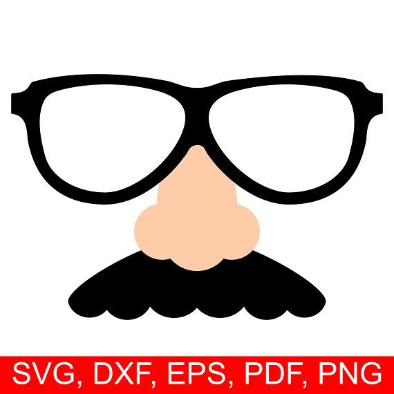 Fake Nose Mustache And Glasses Svg File For April Fool S Day Joke Nose Clipart April Fools Printable Prank Nose Disguise Svg Costume Svg In 2021 Fake Nose Silhouette Paper Cartoon Noses