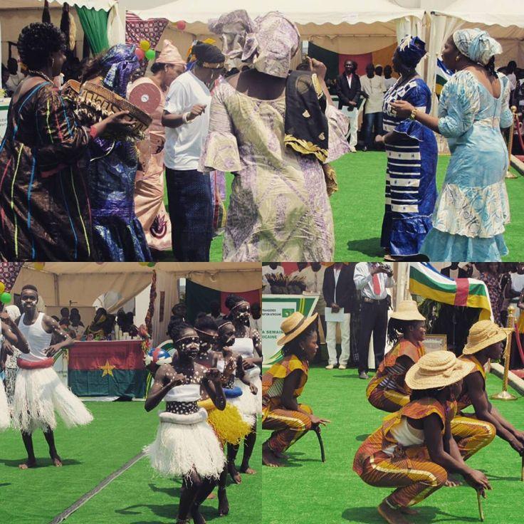 Semaine de l'intégration Africaine avec les prestations des communautés:  sénégalaise, centrafricaine et béninoise.