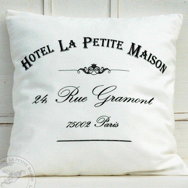 HOTEL - Poduszka dekoracyjna w stylu francuskim
