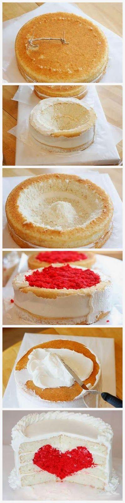 Heart Cake Tutorial - Latest Food