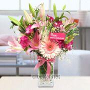 Vazoda Kır Çiçekleri çiçeği