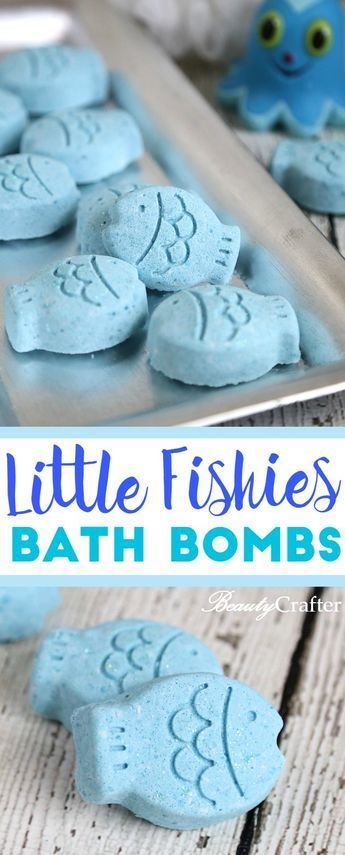 Fish Bath Bombs DIY Mother's Day Gift Homemade Bath Fizzies